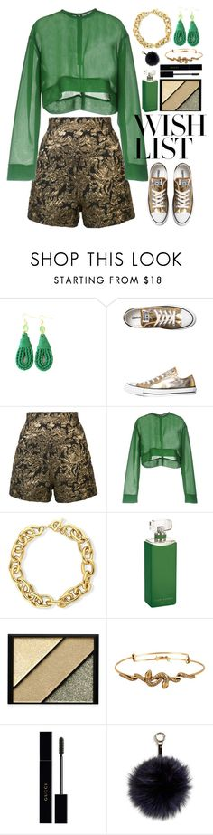 """#PolyPresents: Wish List"" by gicreazioni ❤ liked on Polyvore featuring Converse, Haider Ackermann, MSGM, BERRICLE, Ralph Lauren Collection, Elizabeth Arden, Alex and Ani, Gucci and Adrienne Landau"