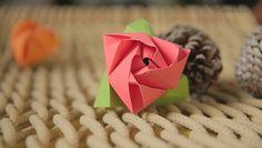 Cómo hacer una rosa de origami paso a pasohttp://lasmanualidades.imujer.com/6852/como-hacer-una-rosa-de-origami