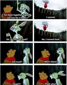 Funny pictures about Pooh who? Oh, and cool pics about Pooh who? Also, Pooh who? Disney Pixar, Disney And Dreamworks, Haha, Disney Humor, Disney Puns, Funny Disney, Disney Facts, Disney Quotes, Chistes