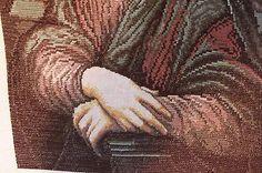 Leonardo-da-Vinci-Mona-Lisa-Original-Wiehler-Hand-Made-Gobelin