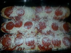 Homemade French Bread Pizza Homemade French Bread, French Bread Pizza, Pepperoni, Eat, Food, Essen, Meals, Yemek, Eten