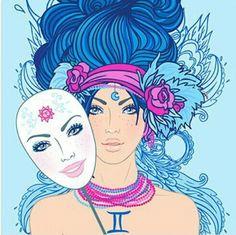 ♊ Gemini Air sign art by Varvara Gorbash