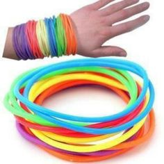 Rubber bracelets & there back again