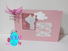 Scrap con Raquetuille: Álbum bebe niña II Album, Mantle, Signature Book, Mini Albums, Filing Cabinets, Books, Bebe