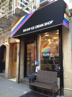 Big Gay Ice Cream Shop - try Monday Sunday or Salty Pimp.