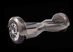 Hoverboard360 Smart Balance Board with Bluetooth Speakers (Chrome) - 1