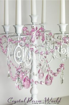 How to Make an Old Used Candelabra into a Stunning Centerpiece.