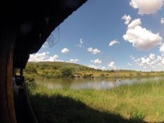 Veiw from one of the many hides found in the Pilanesberg. A spot popular with animals in the hot summer months Game Reserve, Summer Months, Volcano, Day Trips, Perfect Place, South Africa, Wildlife, Country Roads, Popular
