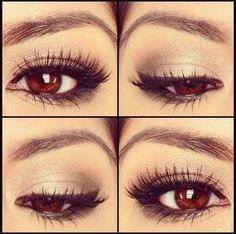 I LOVE my Auburn eyes. Every gold tigers stipe in them, every tear that flows from them <3 Love yourself