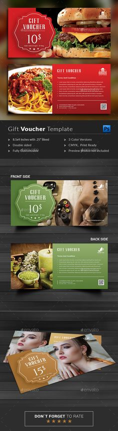 Buy Gift Voucher by BlankToile on GraphicRiver. Modern Gift Voucher Card This Gift Voucher Card is best suitable for promoting your business, product or services lik. Birthday Care Packages, Coupons For Boyfriend, Invitation Card Design, Invites, Best Gifts For Him, Gift Certificate Template, Discount Vouchers, Girlfriend Birthday, Gift Vouchers