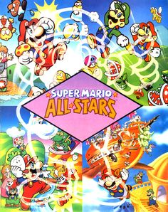 From the Super Mario All-Stars Nintendo Power guide