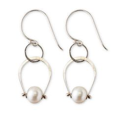 Shop Now! I found the Pearl Embrace Earrings at http://www.arhausjewels.com/product/ea1322/earrings. $120.00 #arhausjewels #earrings.