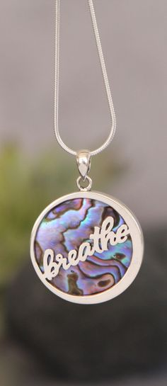 Shell Breathe Necklace