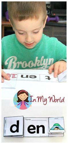 Preschool Letter of the Week EN Word Family Reader free printable