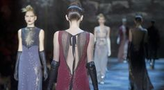 SICILIA FASHION HD: Marc Jacobs, atmosfere da 50 sfumature Abiti lungh...