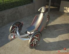 Future Transportation - OOPHAGA Recumbent Trike By Milos Todorovic