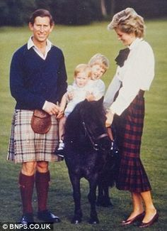william & harry, 1985