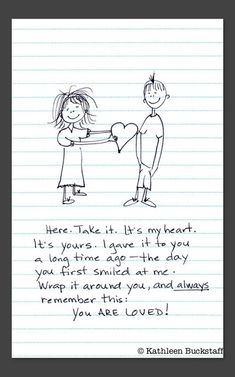 One mom drew pieces of advice on notebook paper for her son when he went away to college. #parenting