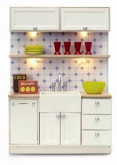 Lundby Belfast kitchen Sink unit NEW & Boxed by VintageLundbyLove, £23.00