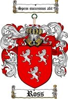 $8.99 Ross Family Crest / Ross Coat of Arms - Download Family Crests
