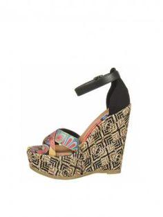 MIA  Reeba Wedge Sandals