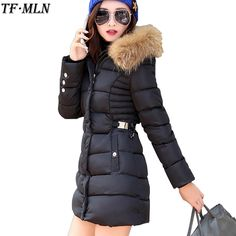 Cheap parkas for women, Buy Quality long parka directly from China outwear parkas Suppliers: TFMLN -30 Degrees 2017 New Long Parkas Female Women Winter Coat Thickening Cotton Warm Jacket Womens Outwear Parkas for Women