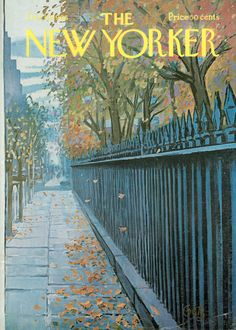 The New Yorker Cover - October 19, 1968 - Arthur Getz