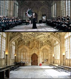 18 best harry potter places book 2 owls oxford wizarding locations the divinity school section of oxfords bodleian library is where goblet of fire dance lessons were harry potter publicscrutiny Choice Image