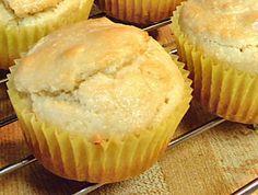 BASIC ALMOND FLOUR MUFFINS with Variations:  Maple Nut Muffins Orange Muffins Lemon Poppy Seed Muffins  Banana Walnut Muffins Apple-Cinnamon Muffins Blueberry Muffins Cinnamon Muffins