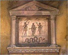 ЛАРЫ. Римский ларарий