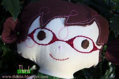 Sweetie with glasses for Alexandria  by Third Street. Made by my friend and her sister :)