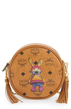 MCM Rabbit Tambourine Small Round Crossbody Bag Only $650.00   On Sale Now