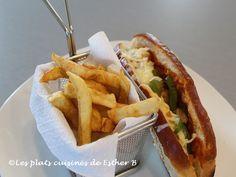 Les plats cuisinés de Esther B: Pizza-dog