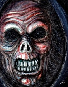 CHECK THIS OUT!MY PAINTING OF DEATH!!
