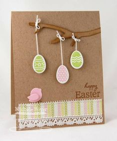 #papercraft #card Happy #Easter by Shel9999 - Cards and Paper Crafts at Splitcoaststampers