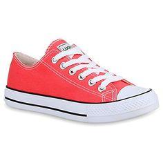 Damen Schuhe 27920 Gr. 41, Coral - http://on-line-kaufen.de/stiefelparadies/41-eu-stiefelparadies-damen-schuhe-sneakers-low-19