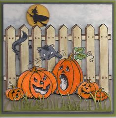 Halloween #1 by bmbfield - Cards and Paper Crafts at Splitcoaststampers