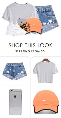 """""""Untitled #2509"""" by alisha-caprise ❤ liked on Polyvore featuring NIKE"""