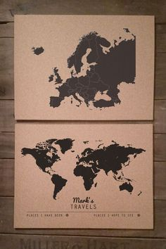 World map cork board cork boards cork and board gumiabroncs Gallery