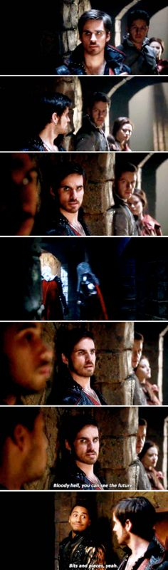 """Killian, Merlin, David and Belle - 5 * 6 """"The Bear And The Bow"""""""