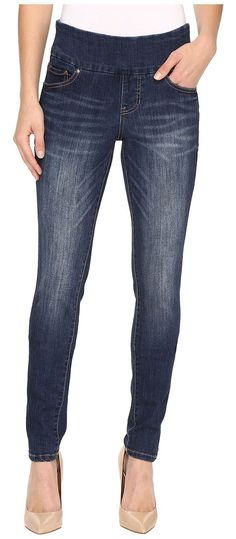 Jag Jeans Nora Pull-On Frontline Denim Skinny in Flatiron (Flatiron) Women's Jeans - Jag Jeans, Nora Pull-On Frontline Denim Skinny in Flatiron, J2112459FLAT, Apparel Bottom Jeans, Jeans, Bottom, Apparel, Clothes Clothing, Gift, - Fashion Ideas To Inspire