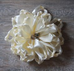 eBook- Make Your Own Fabric Flowers - Knotted Chrysanthemum - EASY - NO SEWING MACHINE REQUIRED - DIY 9- PDF TUTORIAL - by Jewelboxballerina on Etsy. $8.50, via Etsy.