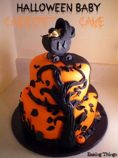 Posts about gothic baby cake written by bakingthings Theme Halloween, Halloween Cakes, Baby Halloween, Spooky Halloween, Baby Shower Fall, Baby Boy Shower, Baby Shower Gifts, Baby Gifts, Baby Shower Cakes