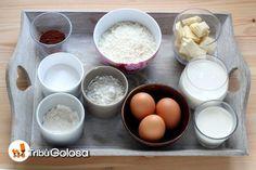 Gli ingredienti per 6-8 persone