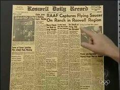 Fala Brasil - Após 65 Anos, Ex-Espião Confirma Aparição de OVNI no Caso Roswell 12/07/2012