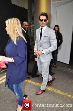 David Gandy, London Fashion Week
