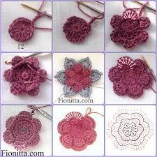 Crochet Sunflower Pattern Crochet Flowers Fionitta Crochet Crochet Sunflower Pattern Free Crochet Flower Pattern How To Crochet A Rose Sewing And. Beau Crochet, Love Crochet, Beautiful Crochet, Irish Crochet, Crochet Motifs, Crochet Flower Patterns, Crochet Flowers, Pattern Flower, Crochet Simple