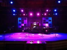 stage design - simple window pane