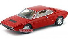 1973.- FERRARI DINO 304 GT4 Rojo (Elite X5482).