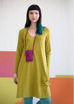 "Kleid ""Fläder"" aus Öko-Baumwolle/Elasthan 50702_50702-80.jpg wiesengrün 74 EUR/ 2-Kaufpreis 65 EUR"